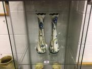 Pair of Moorcroft vases