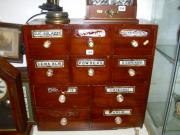 Victorian Pharmacist's Cabinet