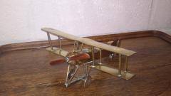 Trench Art Biplane